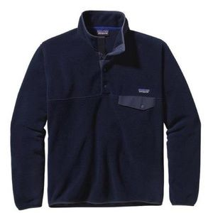 Patagonia Snychilla Snap Fleece Navy Blue